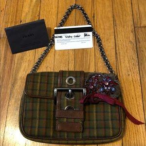 SOLD Prada mini vintage shoulder bag
